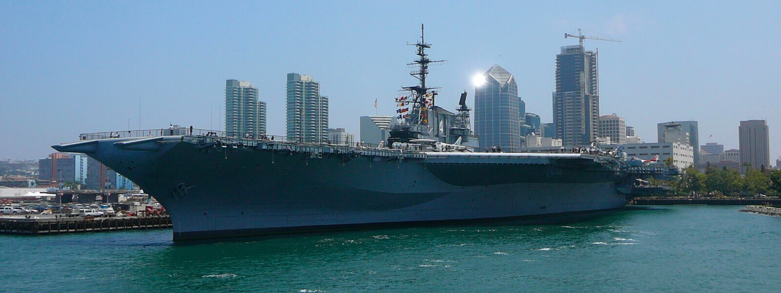 YachtLife's top Yachting Activities in San Diego - The USS Midway