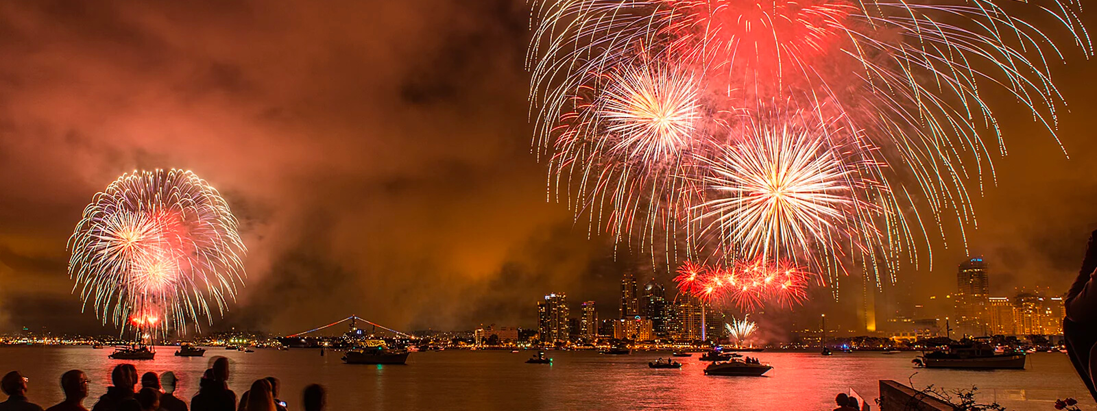 YachtLife's top Yachting Activities in San Diego - July 4th Fireworks
